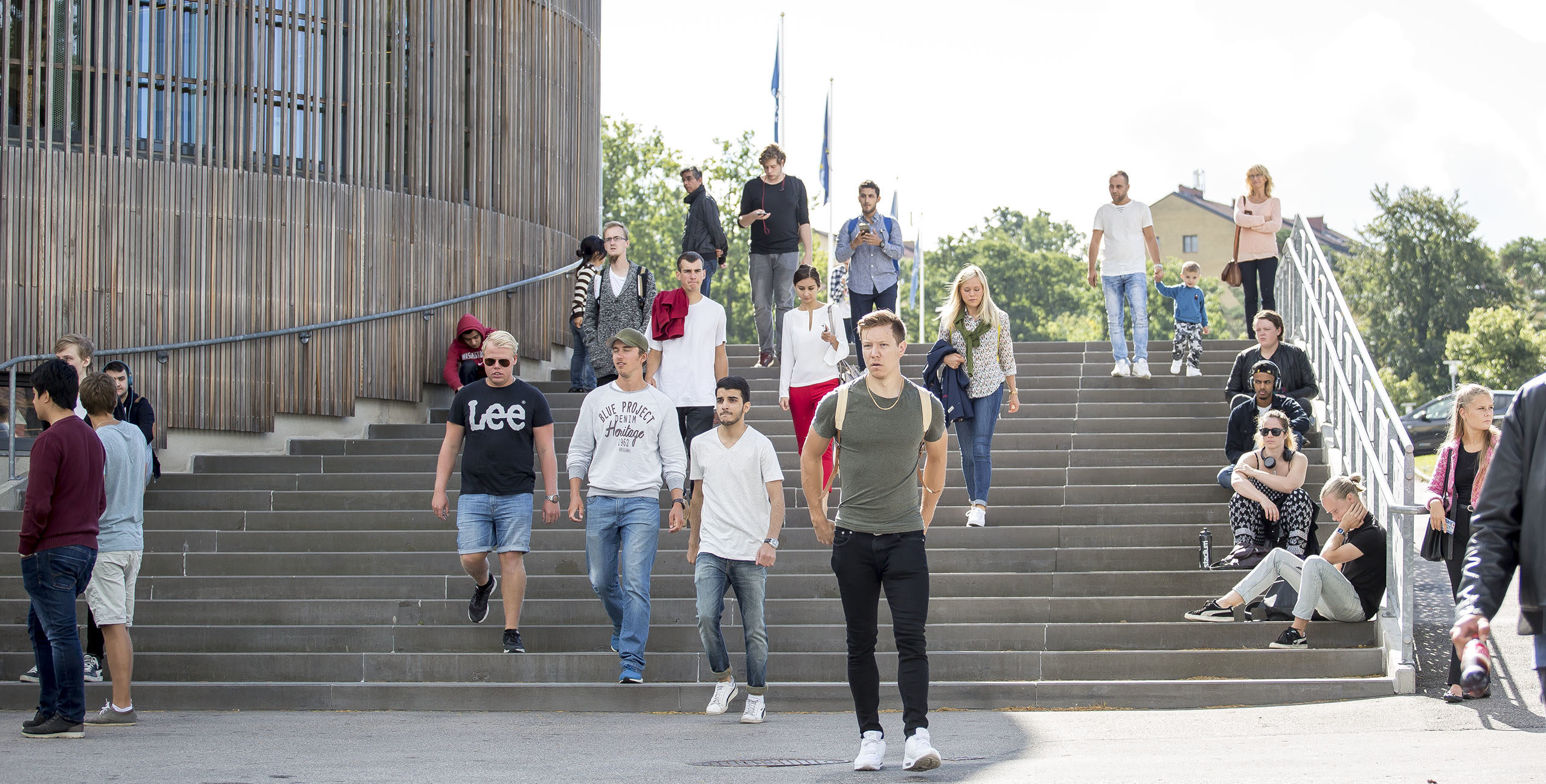 Studenter vid BTH