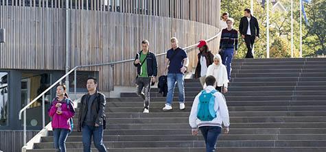 Byggnader och studenter