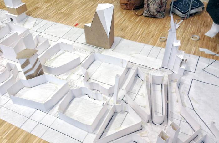 Studentprojekt Fysisk planering - byggstaden