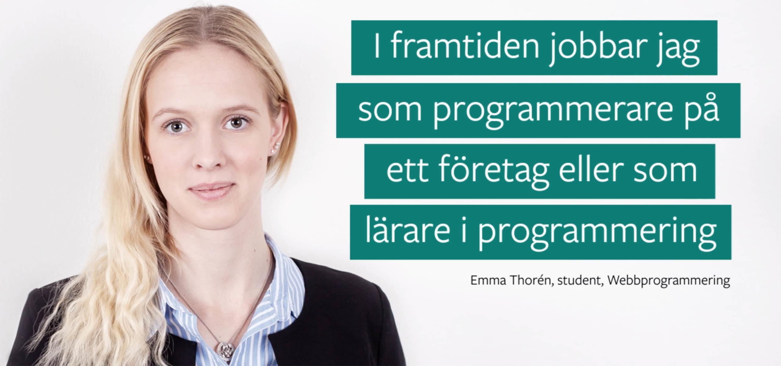 Emma webbprogrammering