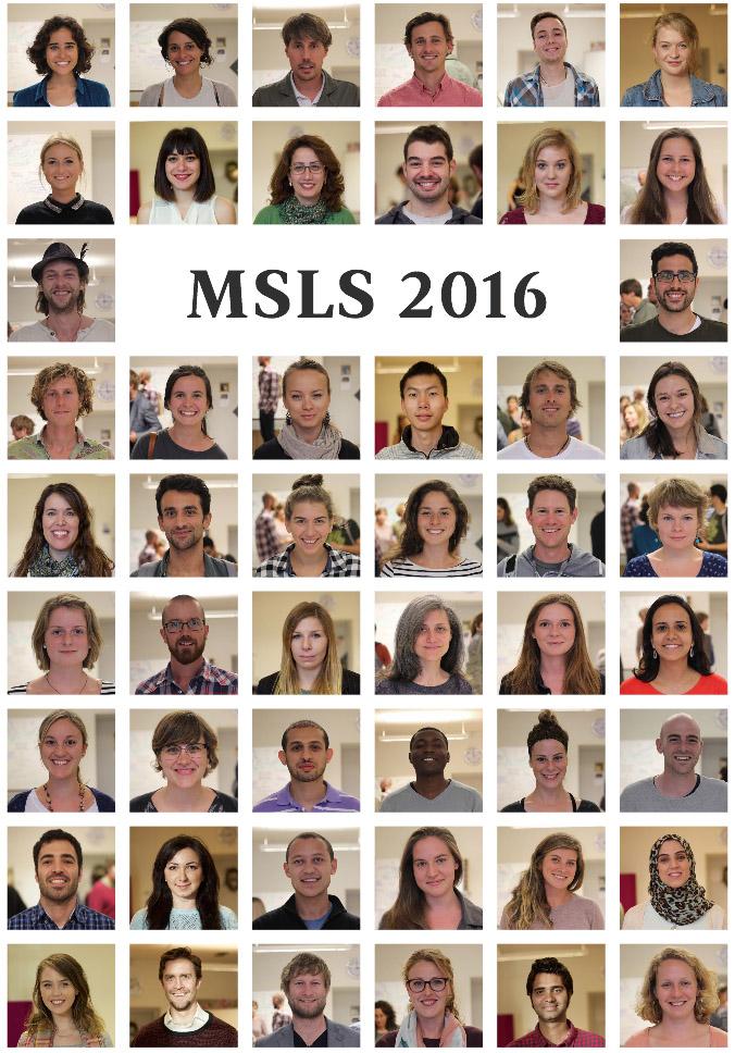 MSLS Students 2016