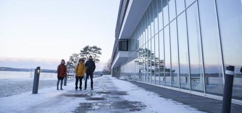 bth byggnad snö