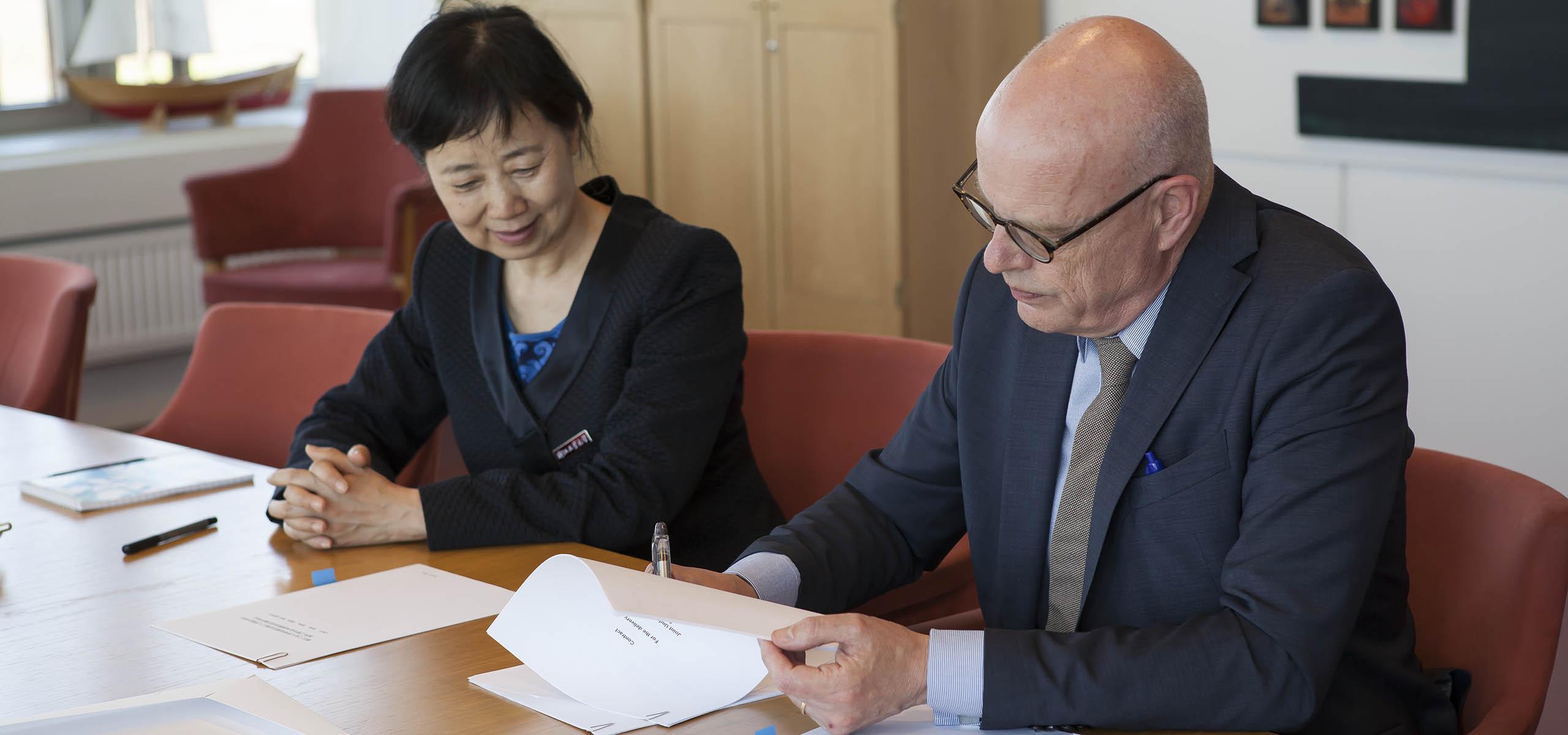 signering av samarbetsavtal
