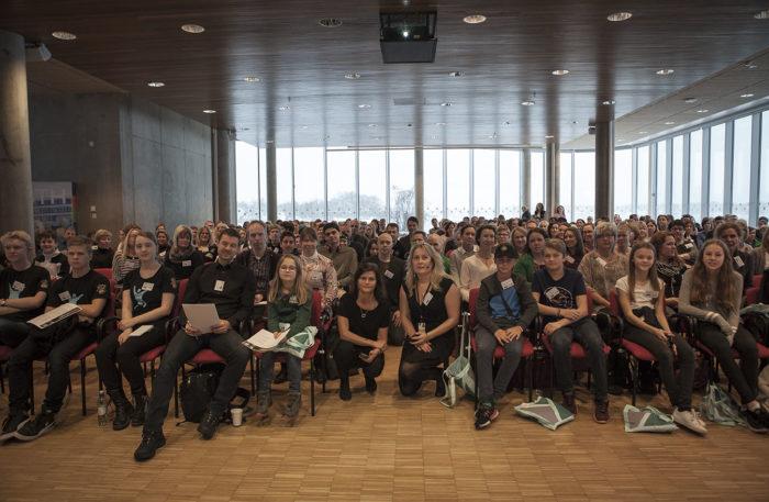Besökare på matematikkonferens