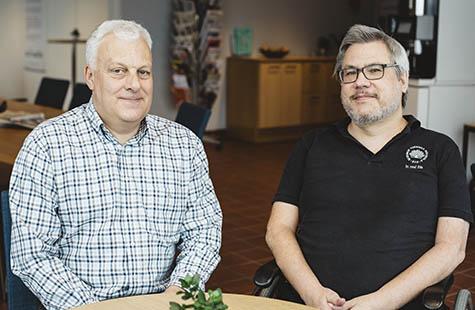Johan Sanmartin Berglund + Peter Anderberg