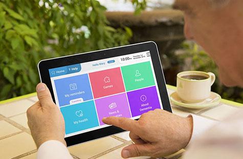 Bild av specialdesignad app