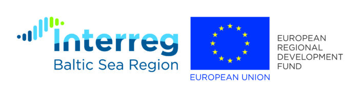 Logotyp Interreg and European Union Development Fund