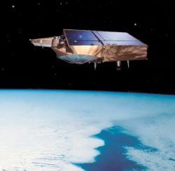 Photo of The Cryosat satellite