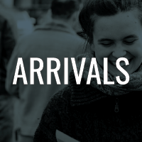 Arrivals button
