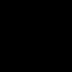 BTH:s logotyp svart, frilagd