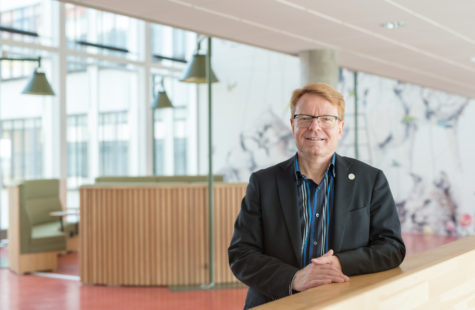 Mats Viberg, rektor, fotografi