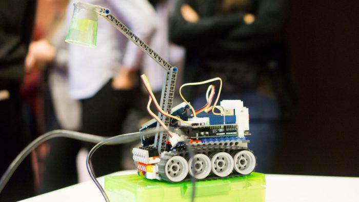 lego robot, fotografi
