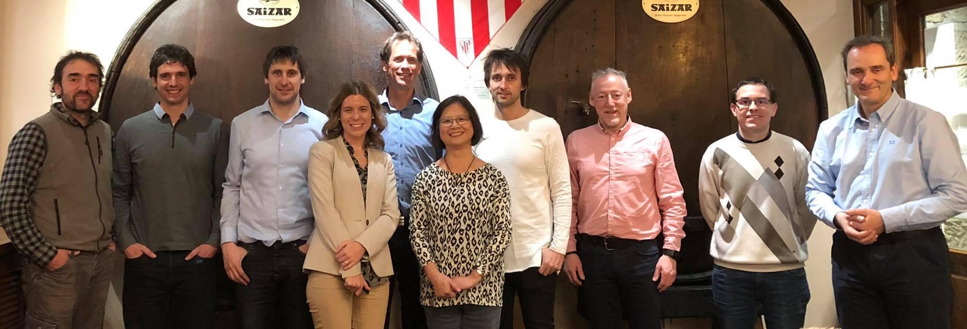 Foto på forskare i EU-projektet SMART-CAMBER