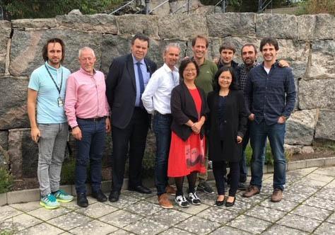 Foto från EUREKA-SMART projektmöte