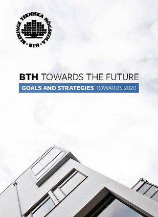 "Photo of the brochure ""BTH towards the future"""