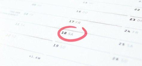 antagning datum