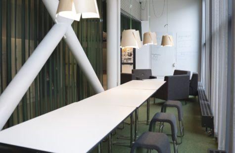 Foto på studiemiljö på Campus Gräsvik