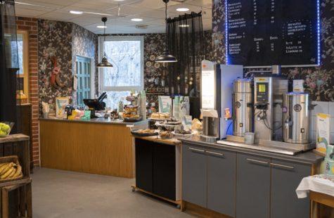 Foto på Café Länken, Campus Gräsvik