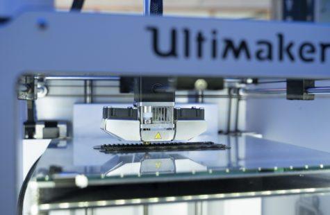 Foto på 3D-skrivare