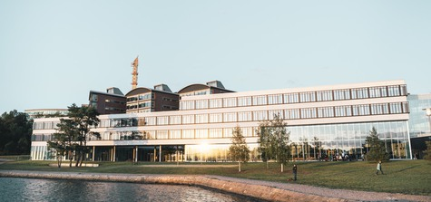 Bild på BTH i Karlskrona