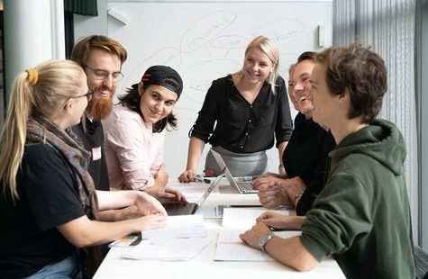 Möte mellan studenter