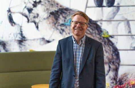 Foto på rektor Mats Viberg