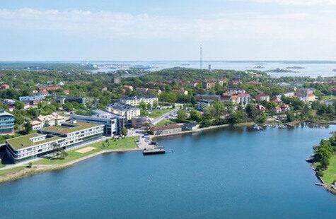 BTH Campus in Karlskrona